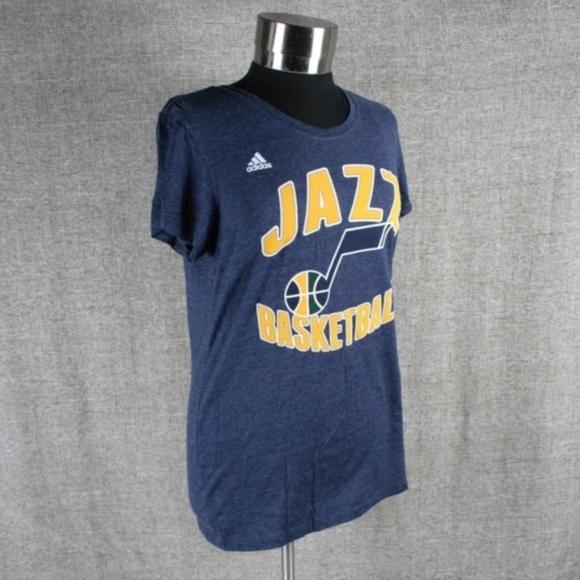 buy online 366f1 ddda7 NEW! ADIDAS NBA UTAH JAZZ SHIRT! NWT
